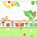 Copinho de Brigadeiro Fundo Natal Verde e Branco