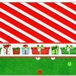 Copinho de Brigadeiro Fundo Natal Vermelho e Verde
