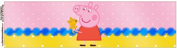 Copinho de Brigadeiro Peppa Pig e Teddy
