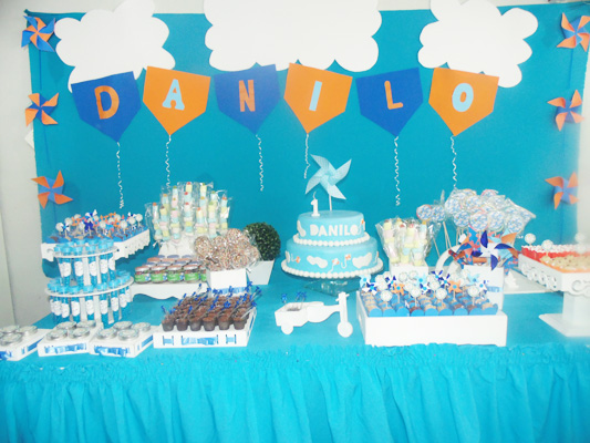 Mesa de Doces Festa Catavento do Danilo