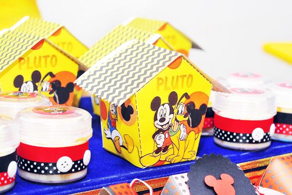 Casinha Mickey - Moldes Festa Mickey Mouse