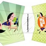Envelope Fritas Show da Luna para Meninos