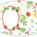 Esmalte Fundo Natal Verde e Branco