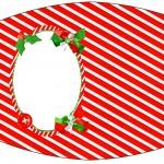 Esmalte Fundo Natal Vermelho e Verde