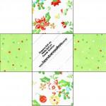 Forminhas Docinhos Fundo Natal Verde e Branco