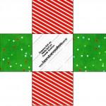 Forminhas Docinhos Fundo Natal Vermelho e Verde