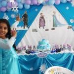 Decoração Festa Frozen da Ana Beatriz