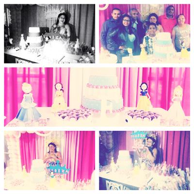 Festa Princesas da Disney da Eloiza