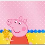 Lata de Leite Peppa Pig e Teddy