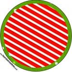 Latinhas Fundo Natal Vermelho e Verde