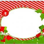 Marmita Fundo Natal Vermelho e Verde