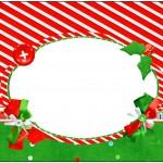 Marmita Fundo Natal Vermelho e Verde 2