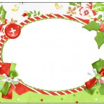 Marmita Pequena Fundo Natal Verde e Branco
