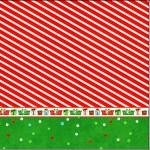 Mini Confeti Fundo Natal Vermelho e Verde