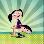 Mini Confeti Show da Luna para Meninos