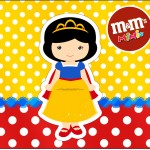 Mini M&M Branca de Neve Cute