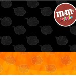 Mini M&M Fundo Naruto