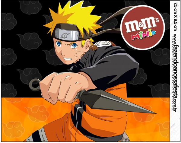 Mini M&M Naruto