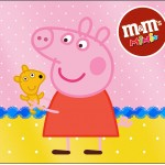 Mini M&M Peppa Pig e Teddy