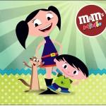 Mini M&M Show da Luna para Meninos