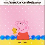 Mini Pastilha Docile Peppa Pig e Teddy