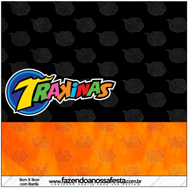 Mini Trakinas Fundo Naruto