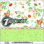 Mini Trakinas Fundo Natal Verde e Branco