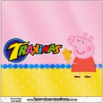 Mini Trakinas Peppa Pig e Teddy