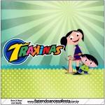Mini Trakinas Show da Luna para MeninosMini Trakinas Show da Luna para Meninos