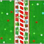 Mini Talento Fundo Natal Vermelho e Verde
