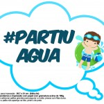 Plaquinhas Divertidas Pool Party para Meninos