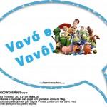 Plaquinhas Divertidas Toy Story