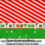 Passatempo Fundo Natal Vermelho e Verde