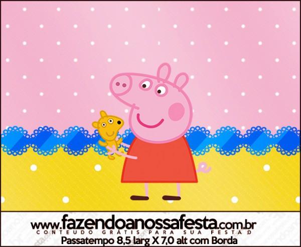 Passatempo Peppa Pig e Teddy