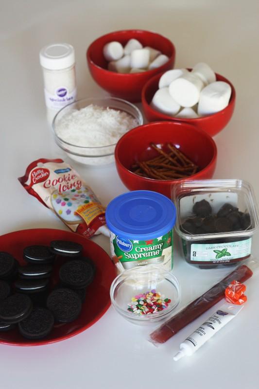 Passo a Passo Boneco de Neve com Cupcake e Marshmallow 1
