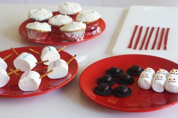 Passo a Passo Boneco de Neve com Cupcake e Marshmallow 11