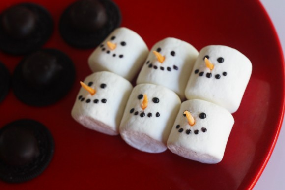 Passo a Passo Boneco de Neve com Cupcake e Marshmallow 14