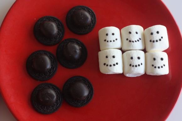 Passo a Passo Boneco de Neve com Cupcake e Marshmallow 15