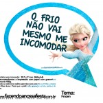 plaquinhas divertidas frozen