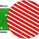 Porta Guardanapos Fundo Natal Vermelho e Verde