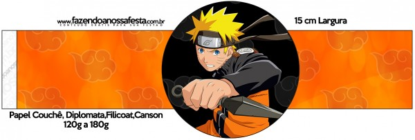 Porta Guardanapos Naruto