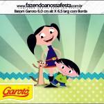Rótulo Batom Garoto Show da Luna para Meninos