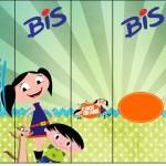 Rótulo Bis Show da Luna para Meninos