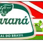 Rótulo Guaraná Fundo Natal Vermelho e Verde 2