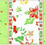Rótulo Pé de Moleque Yoki Fundo Natal Verde e Branco