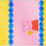Rótulo Pé de Moleque Yoki Peppa Pig e Teddy