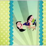 Rótulo Pé de Moleque Yoki Show da Luna para Meninos