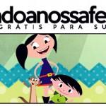 Rótulo Pote Papinha Show da Luna para Meninos