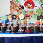 Copinhos Brigadeiro Festa Angry Birds