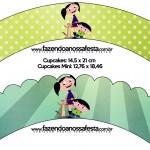Saias Wrappers para Cupcakes Show da Luna para Meninos